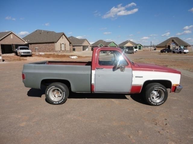 1987 Chevrolet 1/2 Ton Pickups