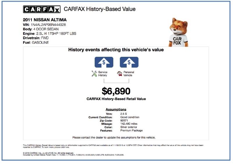 Nissan Altima 2011 price $6,495
