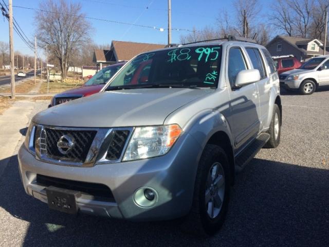 2008 Nissan Pathfinder 4WD V6 SE - Inventory | lawrence auto sales ...