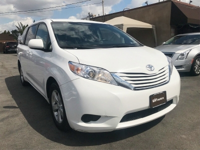 2016 Toyota Sienna 5dr 7-Pass Van LE FWD