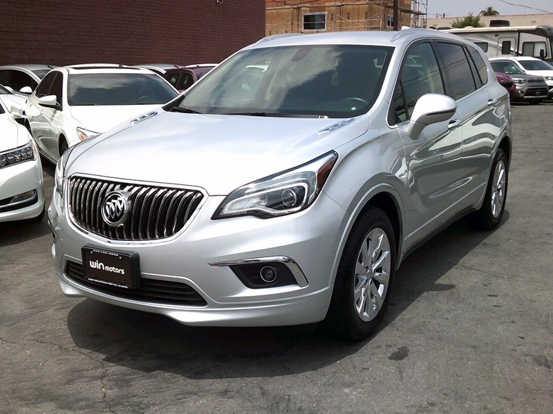 Buick Envision 2017 price $17,777