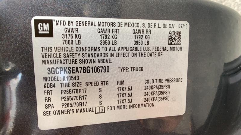 Chevrolet Silverado 1500 2011 price $21,295