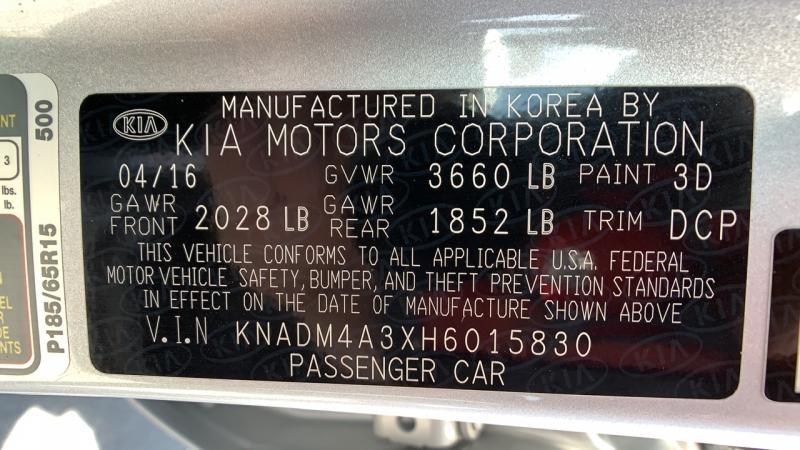 Kia Rio 2017 price $11,777