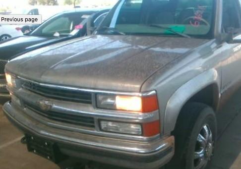 1998 Chevrolet C/K 3500 Crew Cab