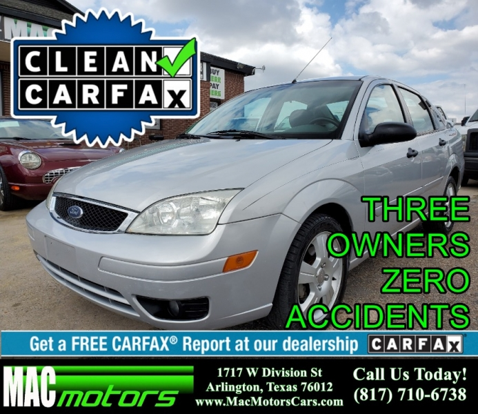 Ford Dealership Arlington Tx >> 2005 Ford Focus 4dr Sdn Zx4 S