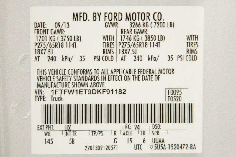 Ford F150 FX4 SuperCrew XLT 2013 price $23,488