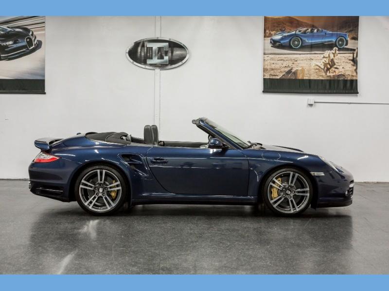 Porsche 911 *Turbo S* Cabriolet 2012 price $98,888