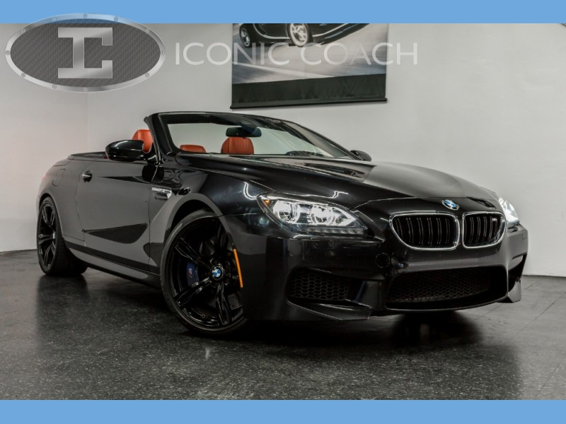 BMW M6 Convertible *Red Leather Interior* 2013 price $39,999