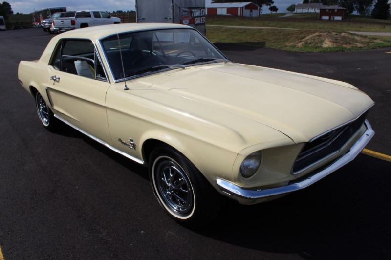Ford MUSTANG 1968 price $15,900