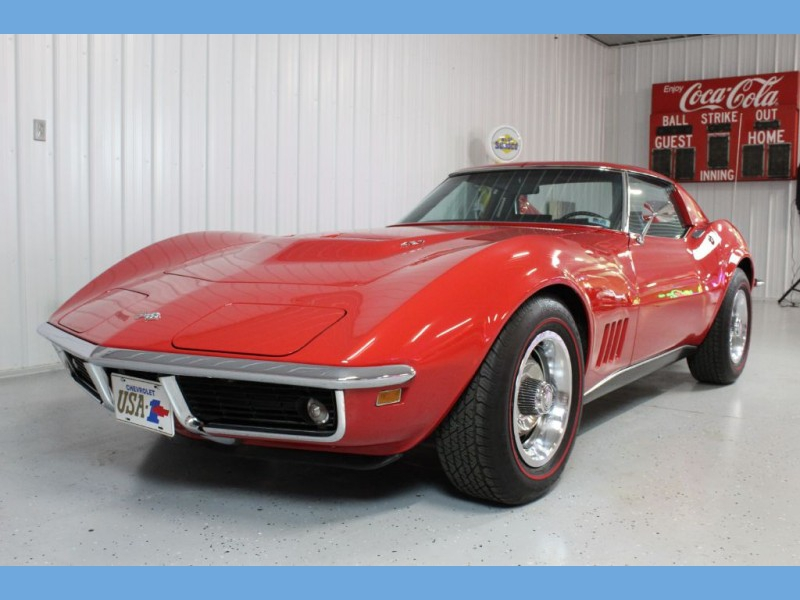Chevrolet Corvette 1968 price $54,900