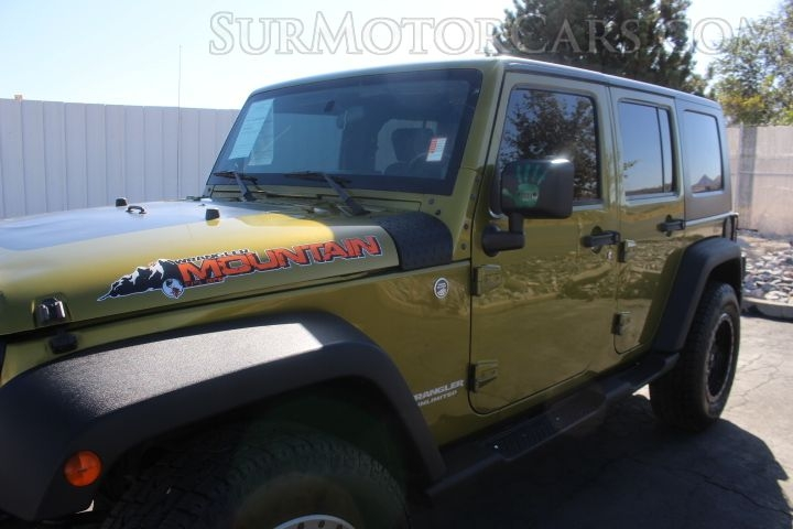 Jeep Wrangler Unlimited 2010 price $10,950
