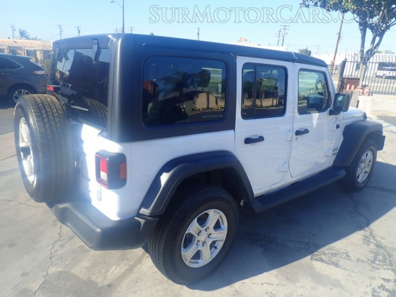 Jeep Wrangler Unlimited 2019 price $18,950