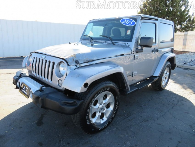 Jeep Wrangler 2015 price $8,950