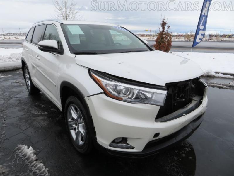 Toyota Highlander 2016 price $14,950
