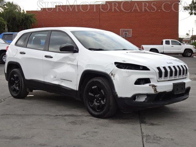Jeep Cherokee 2017 price $7,950