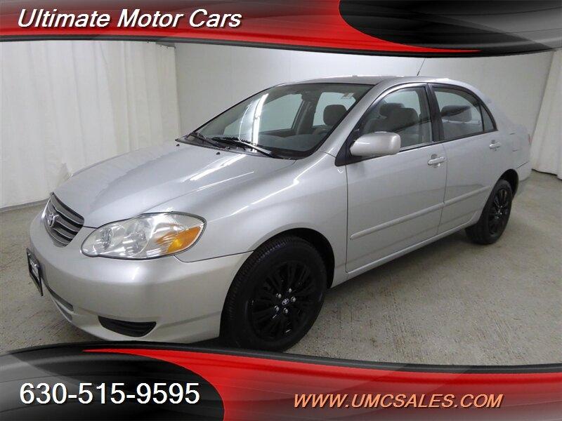 Toyota Corolla 2004 price $4,000
