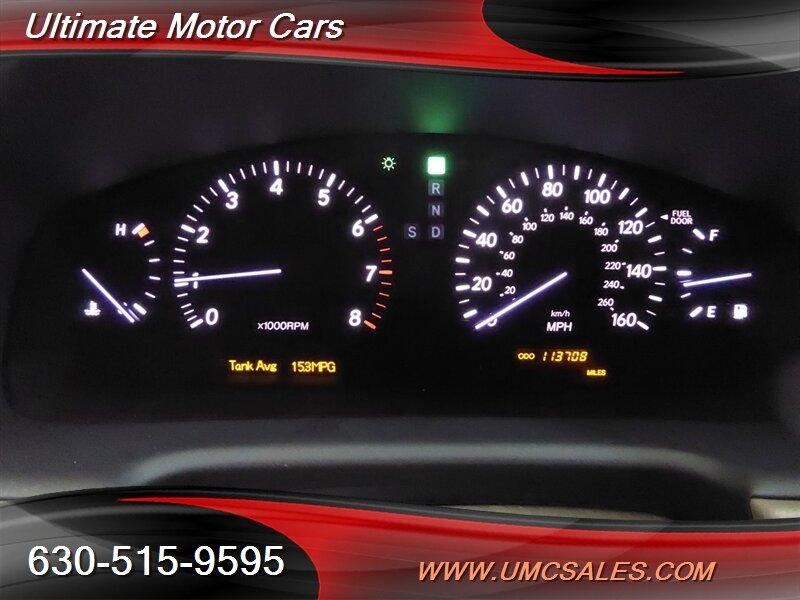 Lexus LS 2005 price $10,000