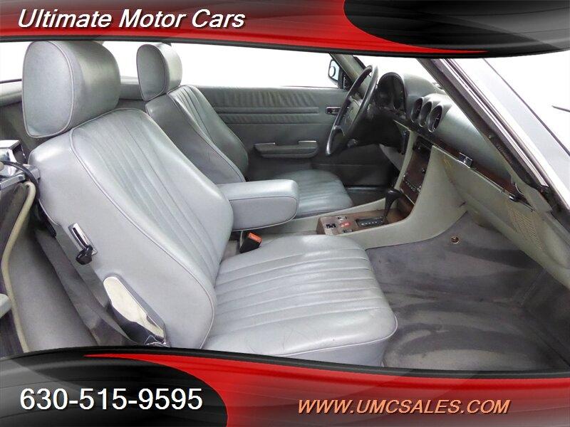 Mercedes-Benz SL-Class 1988 price $20,000