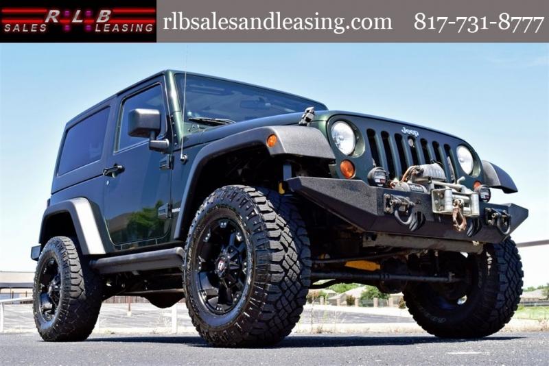 Jeep Wrangler 2011 price $18,490