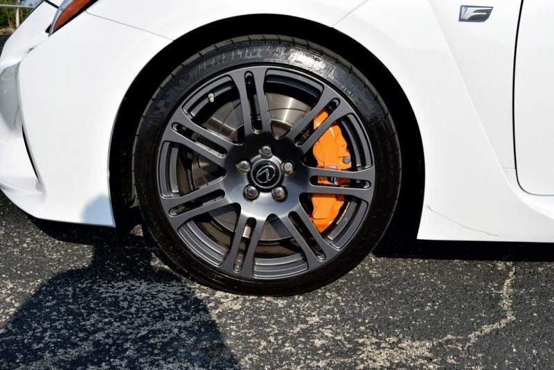 Lexus RC F 2017 price $49,490
