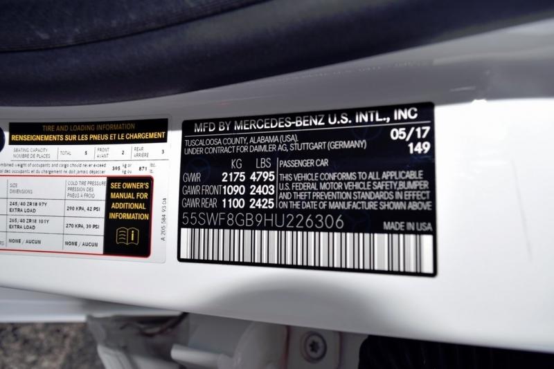 Mercedes-Benz C-Class 2017 price $46,990