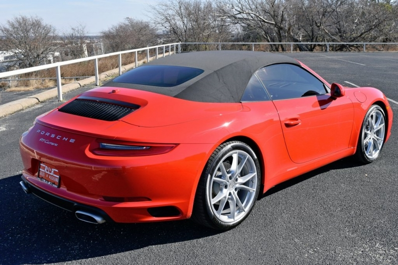 Porsche 911 2018 price $83,000