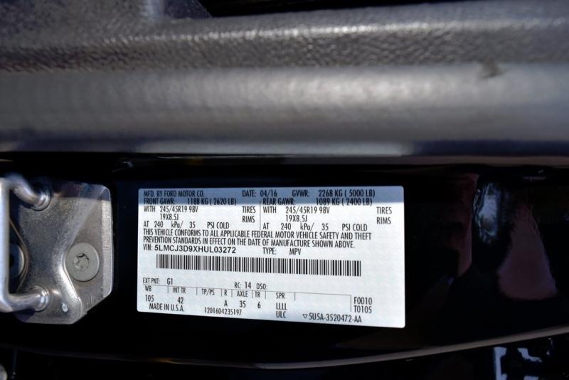 Lincoln MKC 2017 price $25,200