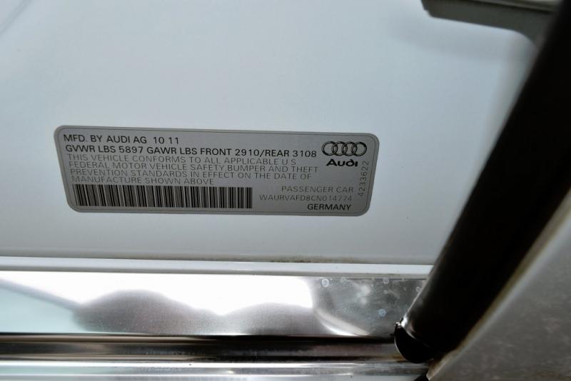 Audi A8 2012 price $15,900
