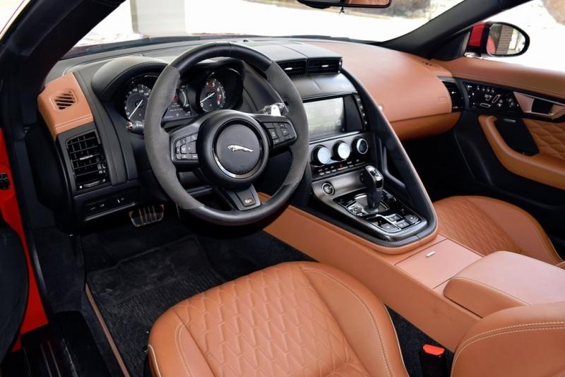 Jaguar F-TYPE 2017 price $74,000