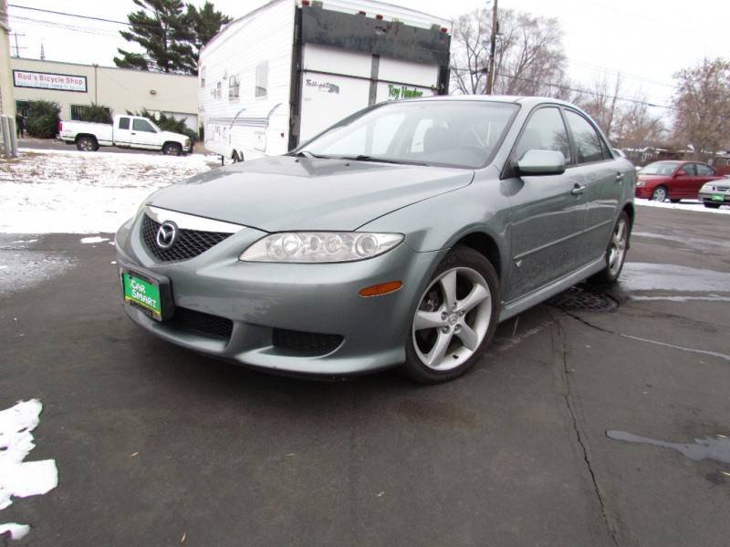 2004 mazda mazda6 4dr sdn s manual v6 car smart of st cloud new used auto inventory. Black Bedroom Furniture Sets. Home Design Ideas