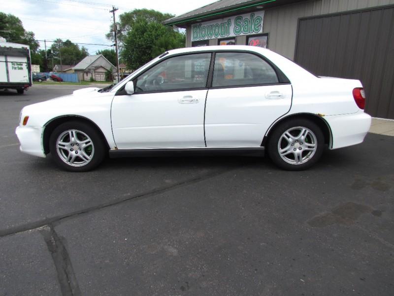 Subaru Impreza Sedan 2002 price $3,700
