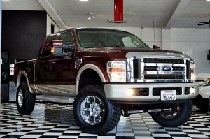 FORD F250 KING RANCH 2008
