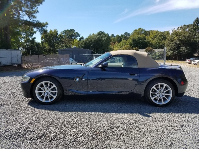 2006 bmw z4 2dr z4 roadster inventory east coast customs auto dealership in. Black Bedroom Furniture Sets. Home Design Ideas