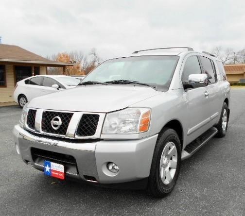 2004 Nissan Pathfinder Armada SUV