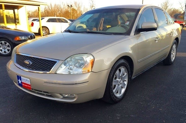 2006 ford five hundred sel 4dr sedan inventory denison motors auto dealership in denison. Black Bedroom Furniture Sets. Home Design Ideas