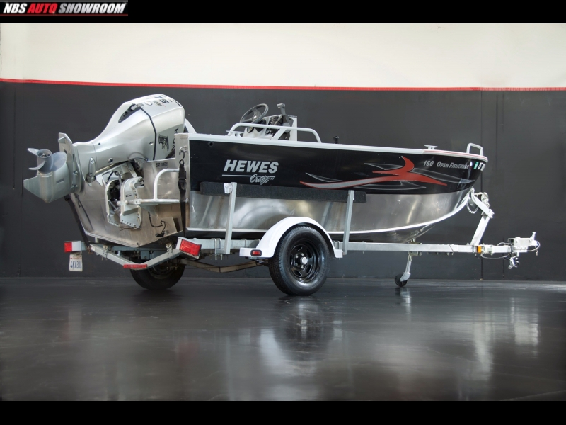 Hewer Boat and Trailer  1997 price $13,000