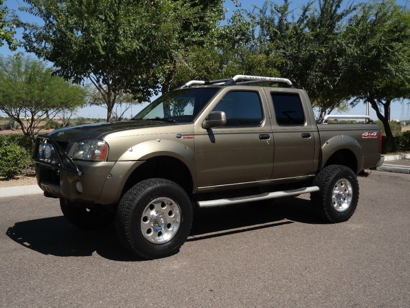 2001 nissan frontier 4wd sc crew cab supercharger v6 auto. Black Bedroom Furniture Sets. Home Design Ideas