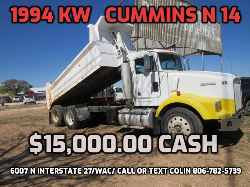 KENWORTH T800 SERIES 1994 price $15,000