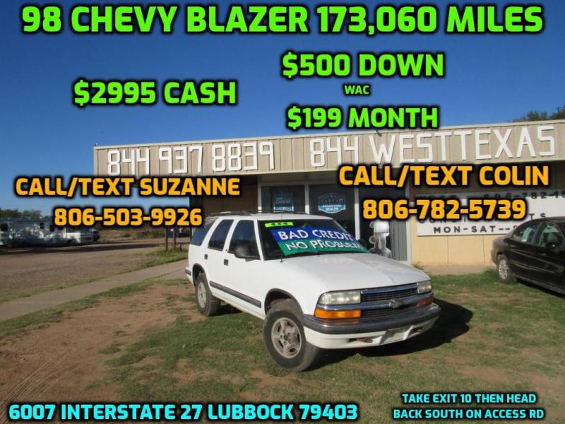 CHEVROLET BLAZER 1998 price $2,995