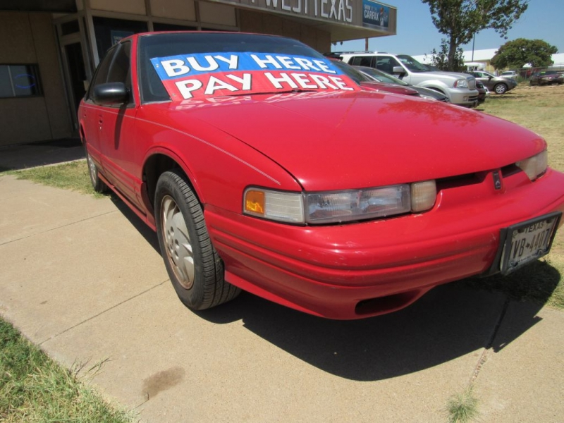 OLDSMOBILE CUTLASS SUPREME 1997 price $3,495