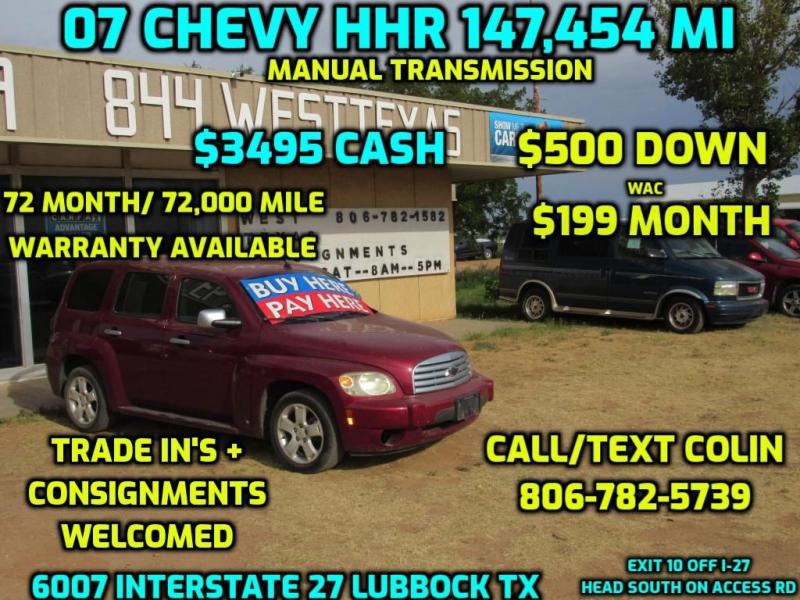 CHEVROLET HHR 2007 price $3,495