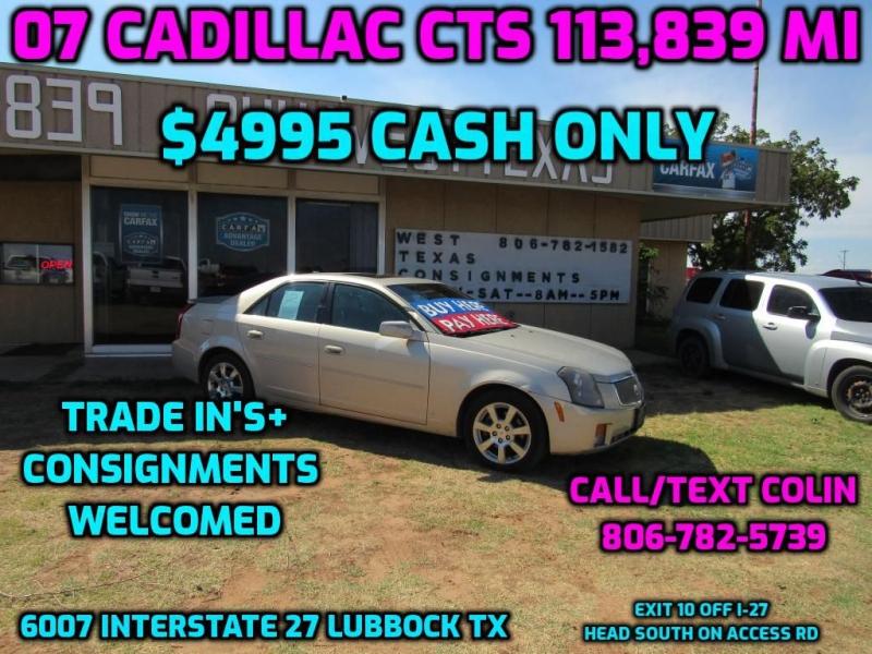 CADILLAC CTS 2007 price $4,995