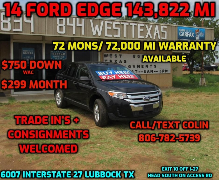FORD EDGE 2014 price $8,995