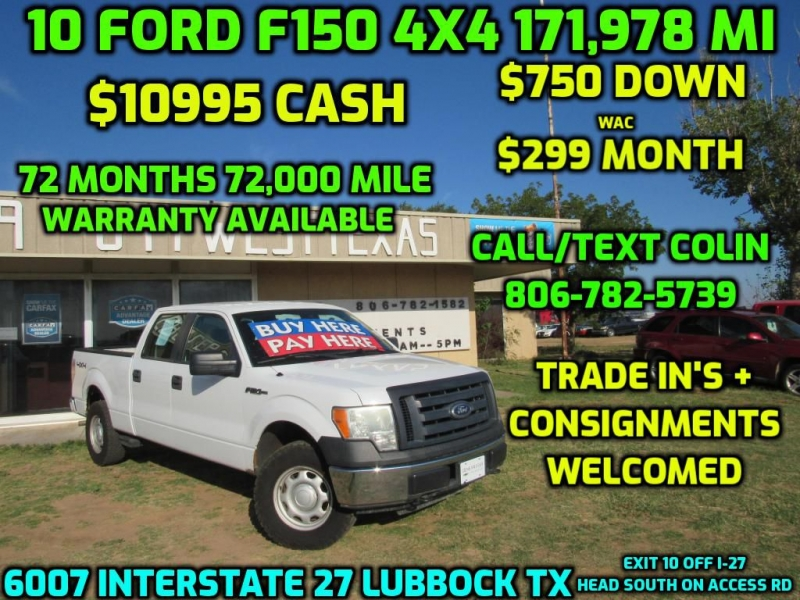 FORD F150 2010 price $10,995
