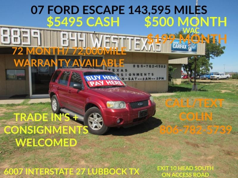 FORD ESCAPE 2007 price $5,495