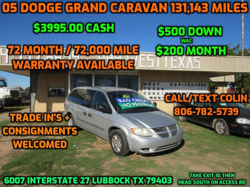 DODGE GRAND CARAVAN 2005 price $3,995