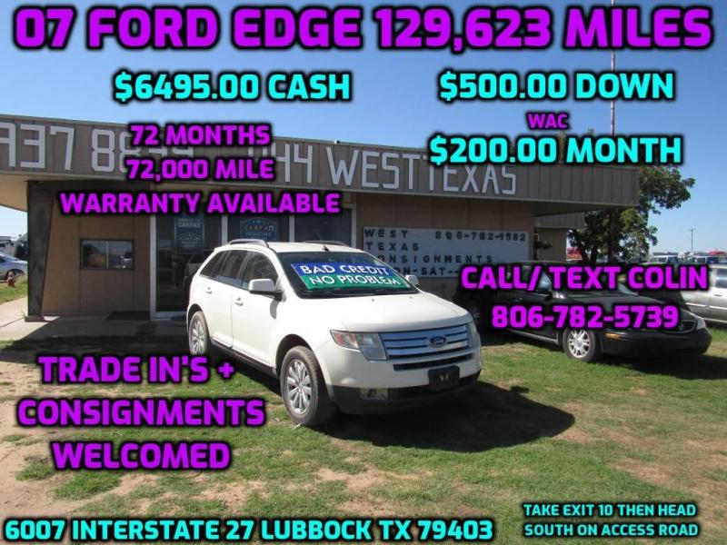 FORD EDGE 2007 price $6,495