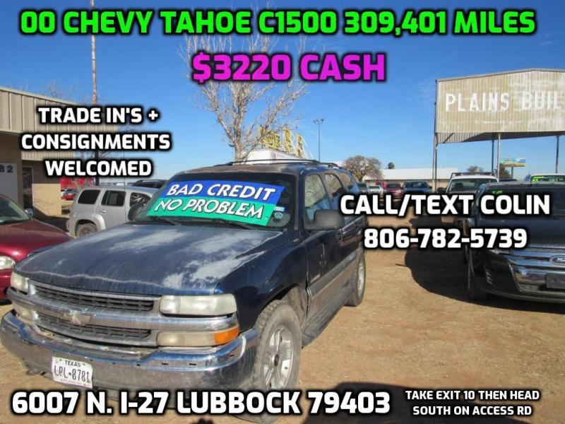 CHEVROLET TAHOE 2000 price $3,495