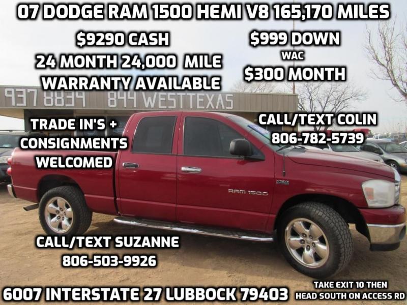 DODGE RAM 1500 2007 price $9,290