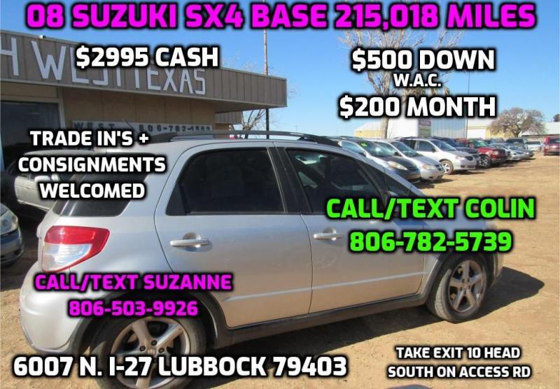 SUZUKI SX4 2008 price $2,995